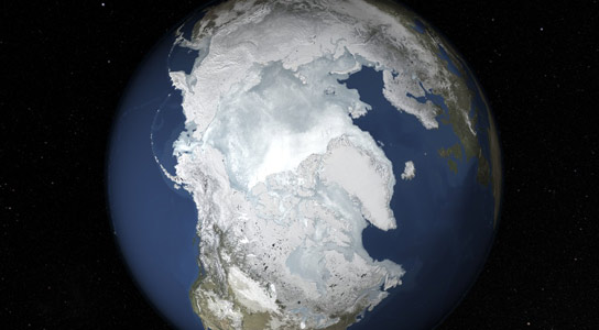 2015 Arctic Sea Ice Sets New Record Winter Low