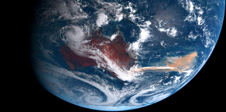 2019-20 Australian Wildfires From Space