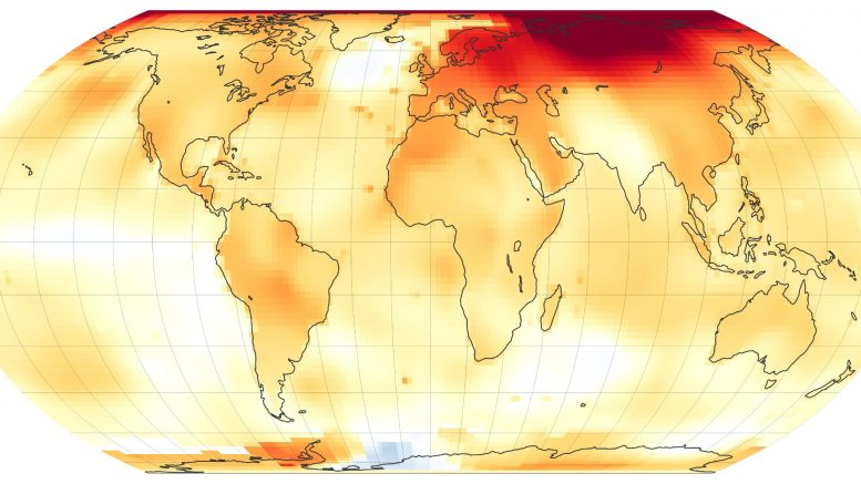 2020 Global Temperature Anomaly