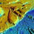 3-D airborne view of the Borrego Fault
