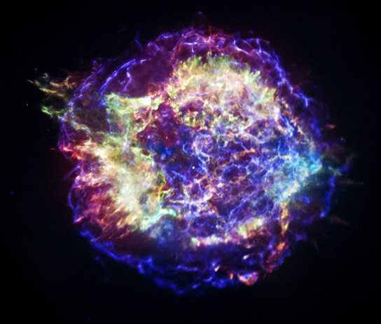 3D Model of the Cassiopeia A Supernova Remnant