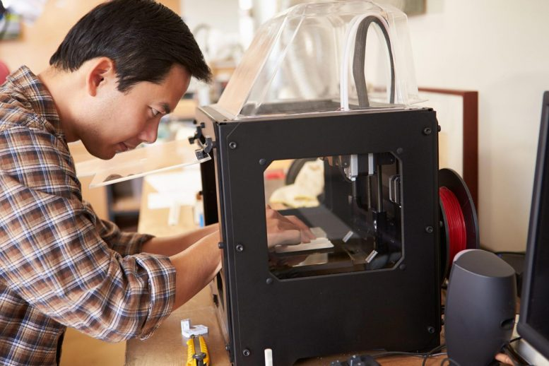 3D Printer Multi-Polymer Filament Fabrication