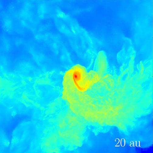 3D Simulation Shows Small Protostellar-Like Core Can Grow into a Supermassive Black Hole