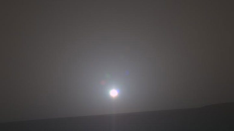5,000th Mars Sunrise