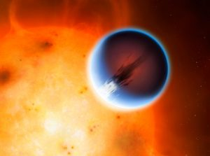 5,400 mph Winds Discovered Hurtling around Exoplanet HD 189733b