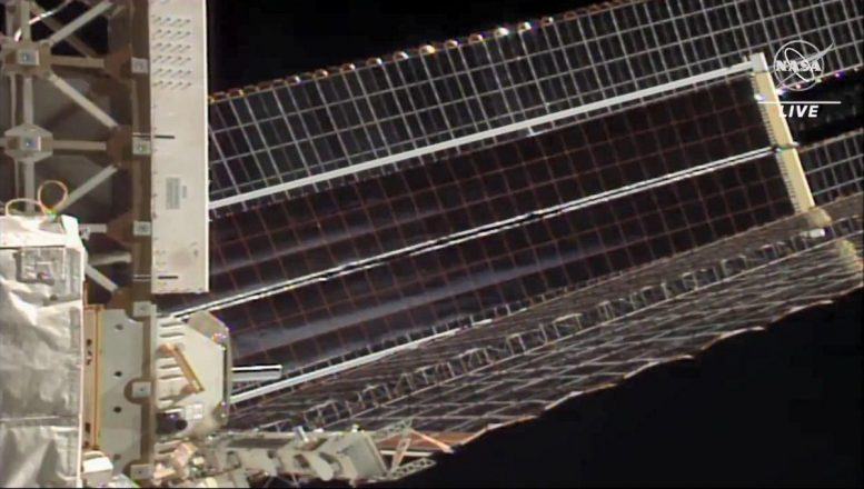 60-Foot-Long Roll Out Solar Arrays