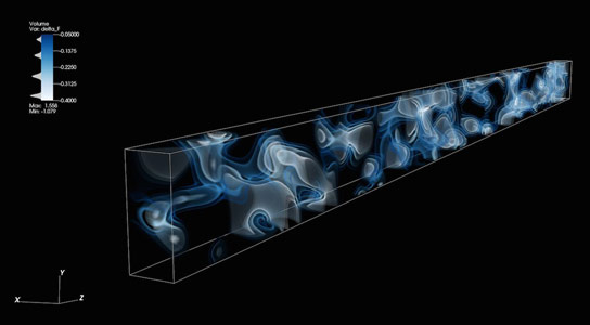 A 3D Map of the Adolescent Universe