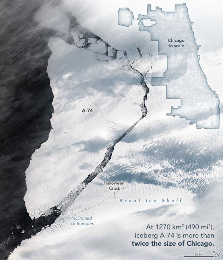 A-74 Iceberg Annotated