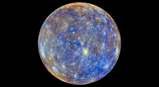 A Colorful View of Mercury