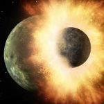A Crucial Difference in the Fingerprints of Earth and the Moon