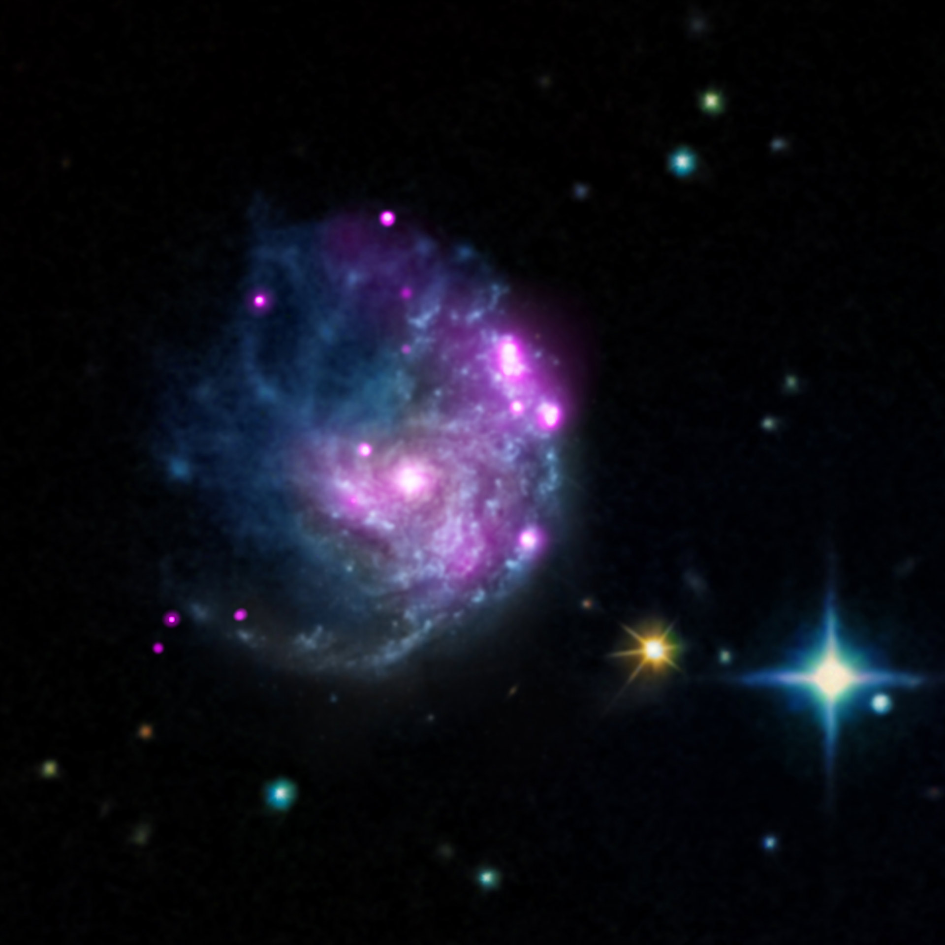 Chandra Discovers Intermediate-Mass Black Hole in Spiral ...