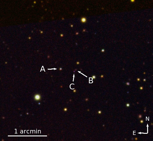A Rare Triple Quasar Discovered