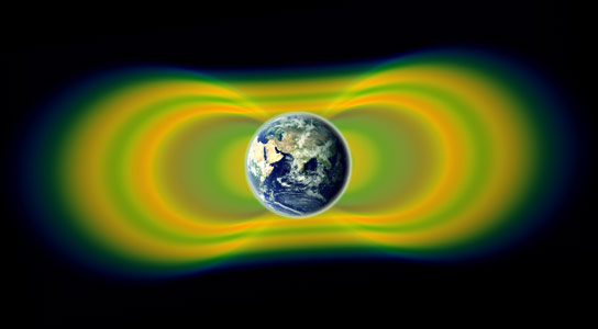 A Third Van Allen Belt Surrounds Earth