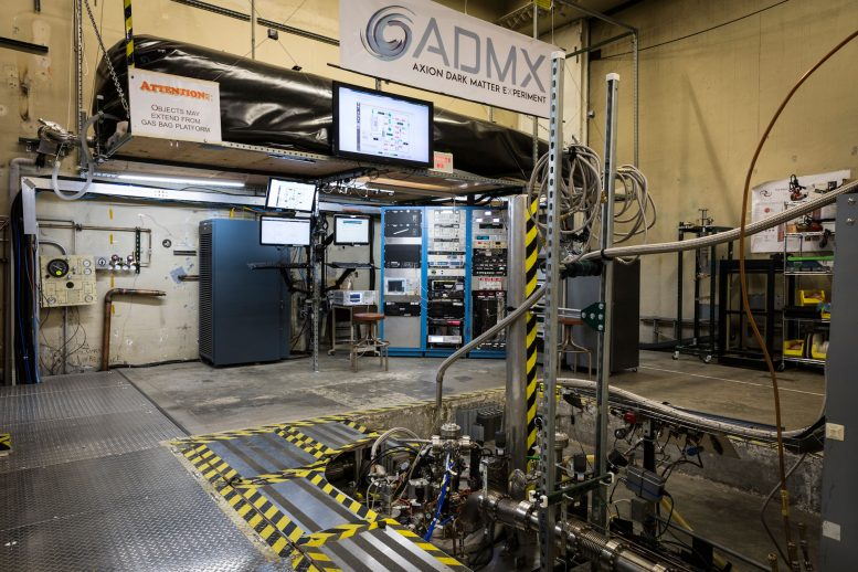 ADMX Announces Breakthrough in Axion Dark Matter Detection Technology