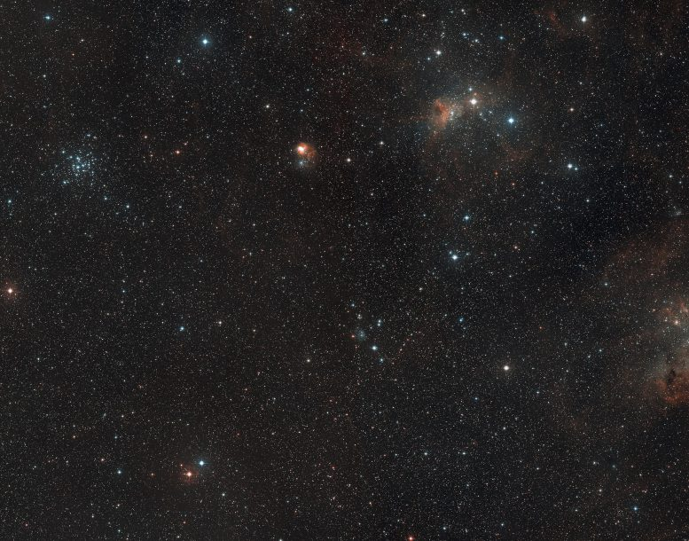 AFGL 5142 Wide Field View