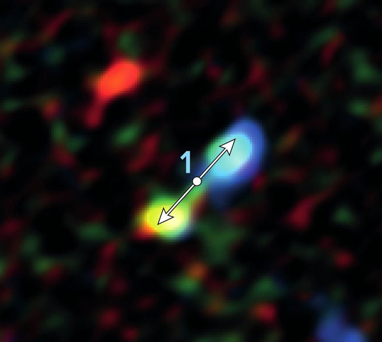 ALMA Discovers Stars Surprisingly Near Galaxy's Supermassive Black Hole