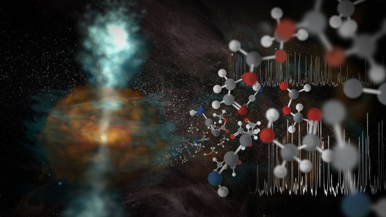ALMA Displays Capabilities, Reveals Cosmic Steam Jets and Molecules