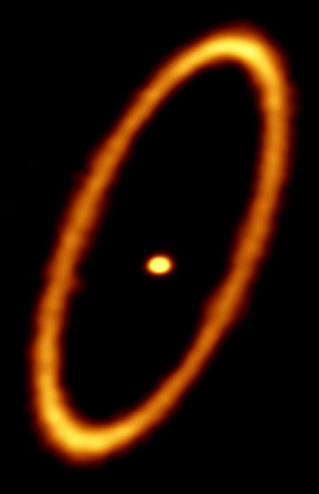 ALMA Image of the Debris Disk in the Fomalhaut System