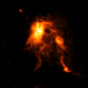 ALMA Image of the Glowing Dust Inside NGC 6334I