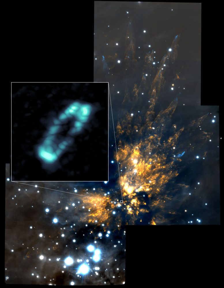 ALMA Image of the Salty Disk