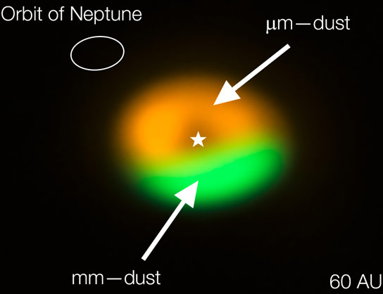 ALMA Reveals Dust Trap Disc That Surrounds the System Oph IRS 48