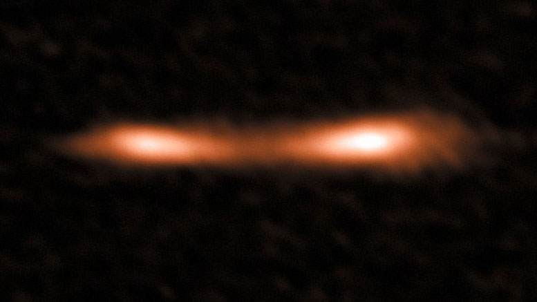 ALMA View of the Cosmic Eyelash