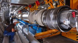ALPS Superconducting Magnet Installation