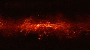 APEX Image of Our Galaxy's Heart