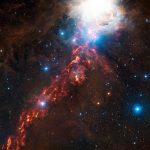 APEX Views Interstellar Dust in the Cosmic Clouds of Orion