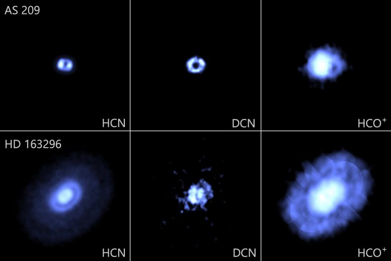 AS 209 and HD 163296 Protoplanetary Disks