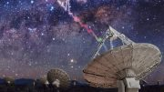 ASKAP Radio Telescope Detecting Fast Radio Burst