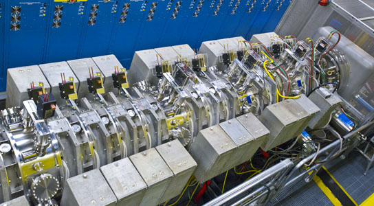 Accelerator to Study Steps on the Path to Fusion