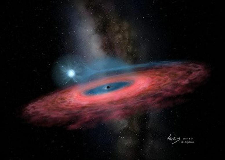 Accretion of Gas Onto a Stellar Black Hole