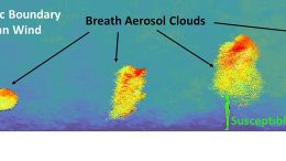 Aerosol Large-Eddy Simulation Results