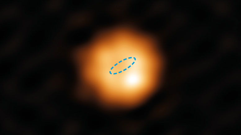Alma Image Provides a Surprising Glimpse of the Sun's Future