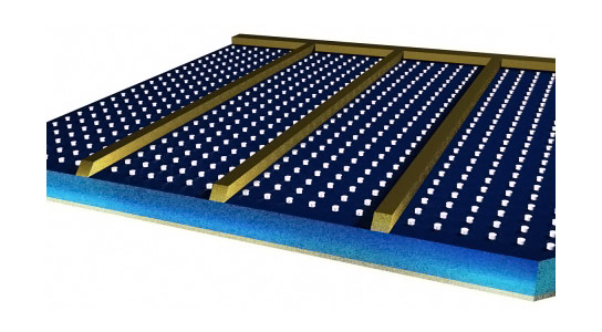 Aluminum Studs Improve Solar Panel Efficiency