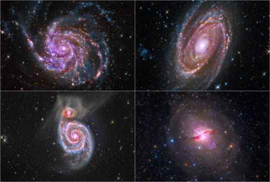 Amateur Astronomers and Astrophotographers Combine Data for New Galaxy Images