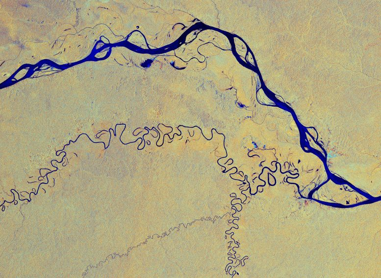 Amazon River From Space
