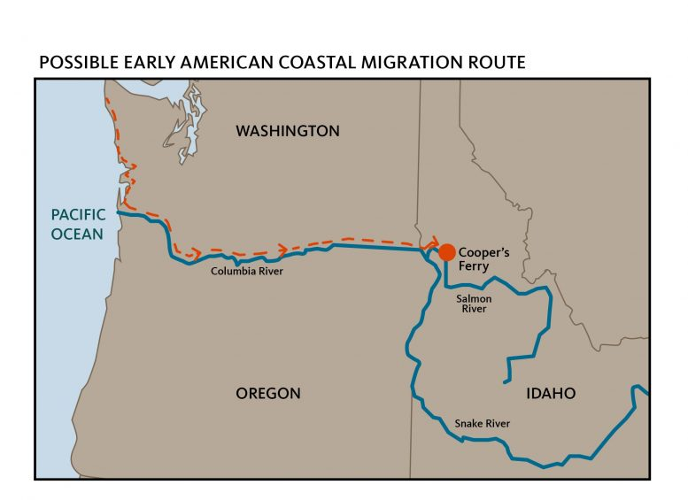 American Pacific Coastal Migration Route