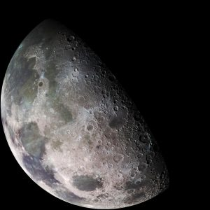 An Atmosphere Around the Moon?