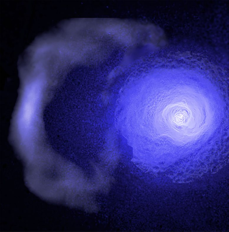 Ancient Cold Front in the Perseus Cluster