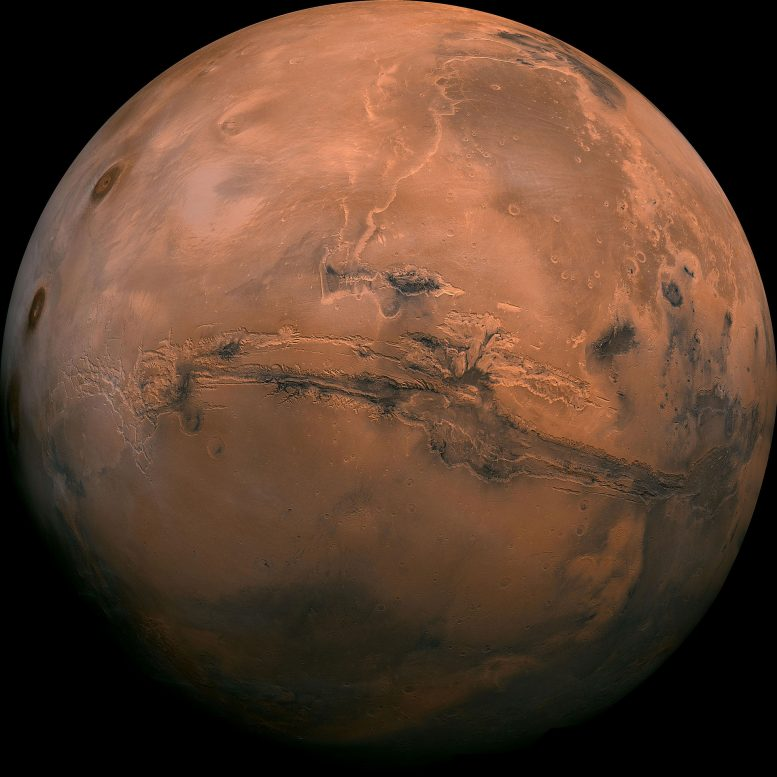 Ancient Mars Had the Right Conditions for Underground Life