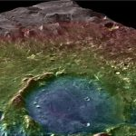 Ancient Martian Lake System Records Two Water-Related Events