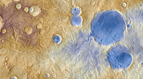 Ancient Snowfall Likely Caused Water Carved Valley on Mars