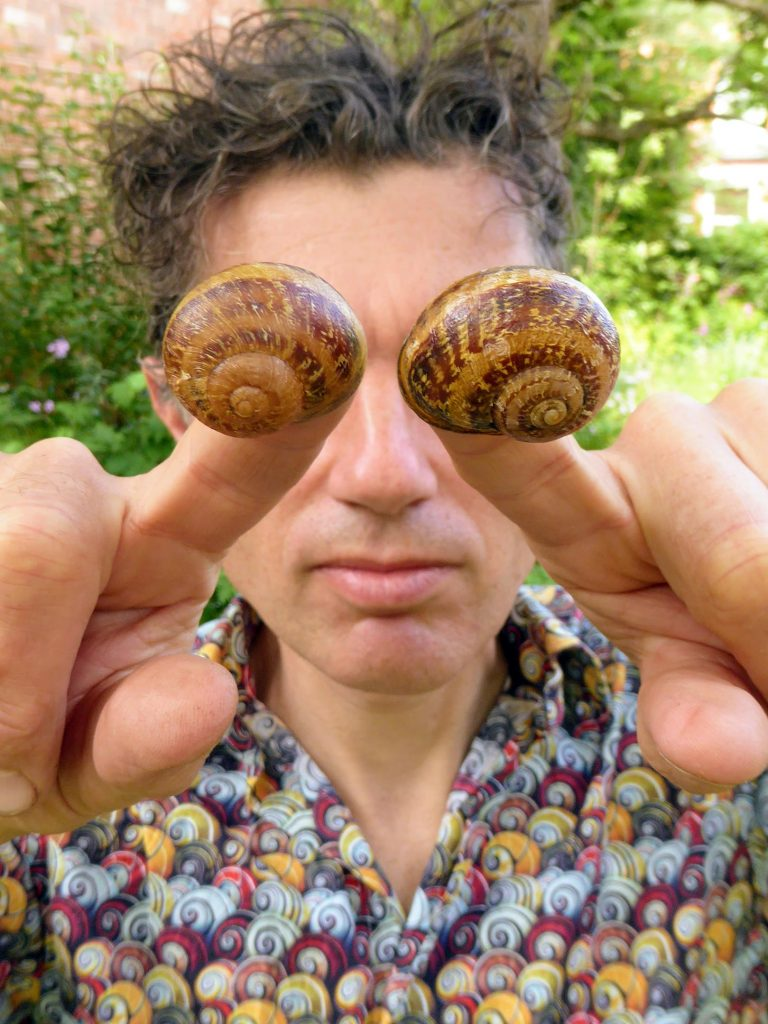 Angus With Snails