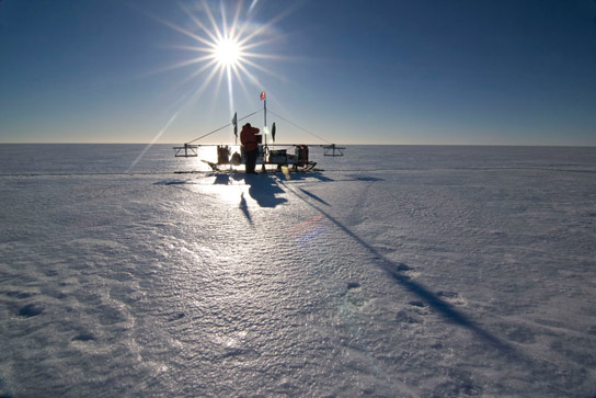 Antarctic Ice Shelf Thinning from Above and Below