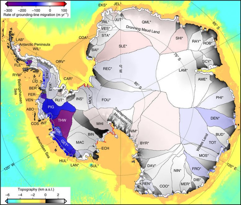 Antarctica's Great Ice Sheet is Losing Ground