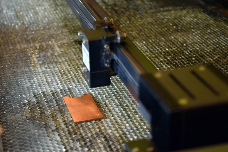Antimicrobial Laser-Treating Copper