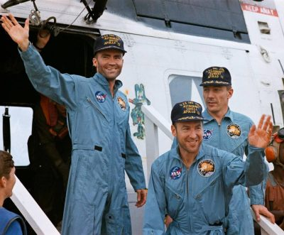 Apollo 13 Astronauts Recovery Helicopter