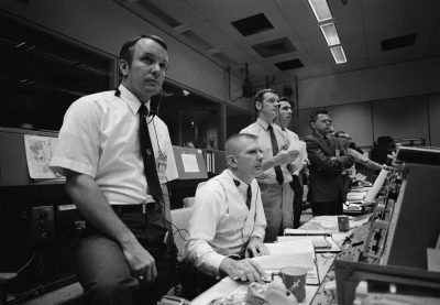 Apollo 13 Flight Directors Wait